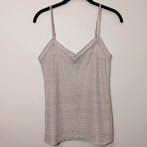 American Eagle | Sparkly Layering Tank Top M